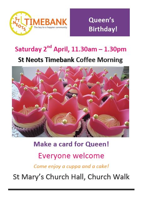 time bank coffee morning